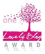 Recipient of the One Lovely Blog Award