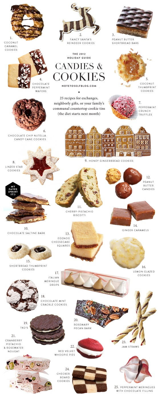 fun xmas cookie chart!
